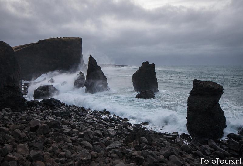 IJsland kust bij Reykjaness | © Anne van Houwelingen | FotoTours.nl