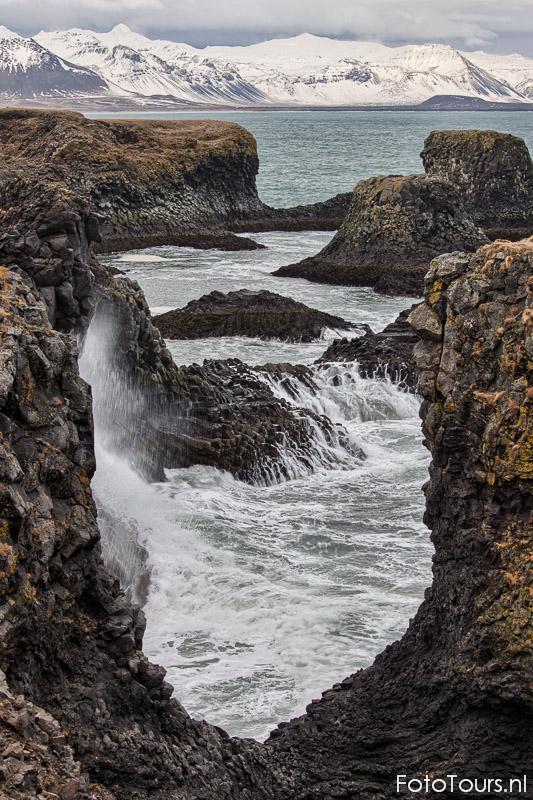 IJsland kust bij Snaeffelsnes | © Anne van Houwelingen | FotoTours.nl