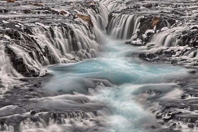 IJsland Winter - Brúarfoss waterval | © Anne van Houwelingen | FotoTours.nl