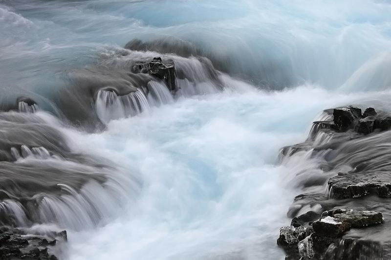 FotoTours IJsland 2015 - Bruarfoss Pieter