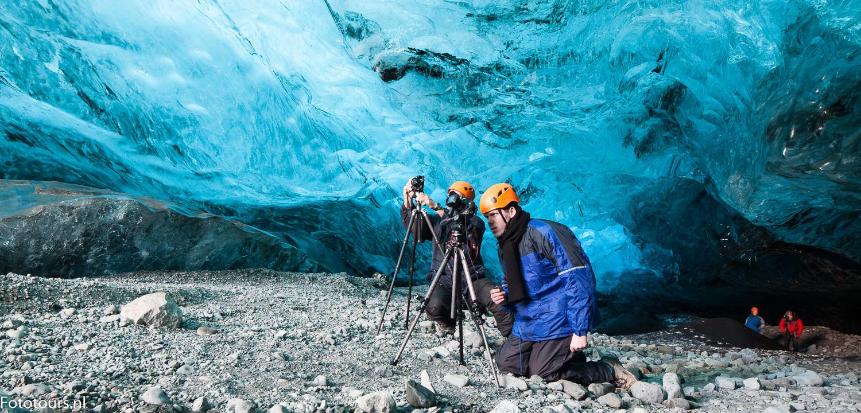 Foto ijsgrot IJsland, copyright Anne van Houwelingen