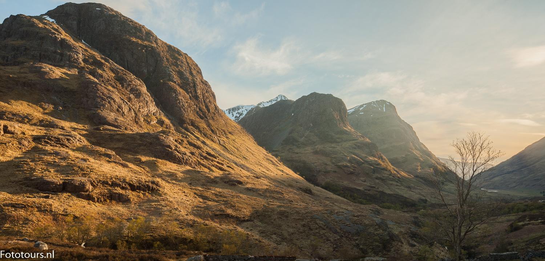 Foto three sisters Schotland, copyright Anne van Houwelingen